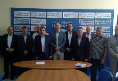 Кандидатите на ГЕРБ с Цветан Цветанов